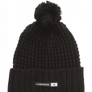 J. Lindeberg Ski Ball Hat Wool Blend Pipo