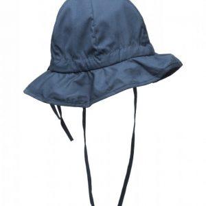 Melton Hat W/Brim & Bow Solid Col Hellehattu