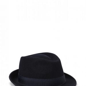 Mjm Snap Wool Felt Anthracite Hattu