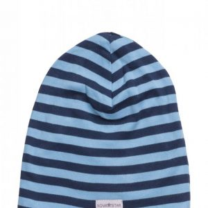 Nova Star Nb Blue Striped Beanie Pipo