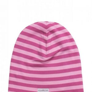 Nova Star Nb Pink Striped Beanie Pipo