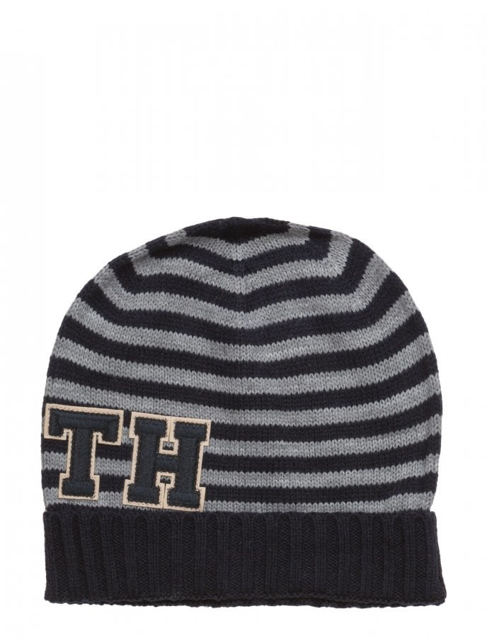 Tommy Hilfiger Th Patch Hat Stripes Pipo - Hattukauppa24.fi 98d1869622