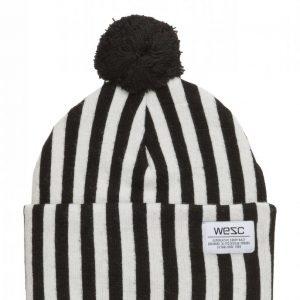 Wesc Puncho Pom Striped Beanie Pipo