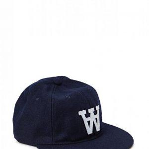 Wood Wood Logo Wool Cap Lippis